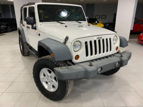 2008 Jeep Wrangler Unlimited for sale at Auto Mall of Springfield in Springfield IL