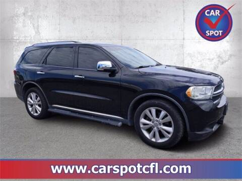 2011 Dodge Durango for sale at Car Spot Of Central Florida in Melbourne FL