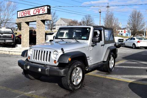 2010 Jeep Wrangler for sale at I-DEAL CARS in Camp Hill PA