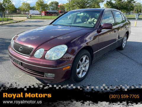 2004 Lexus GS 300 for sale at Royal Motors in Hyattsville MD