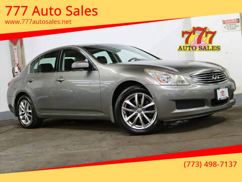 2007 Infiniti G35 for sale at 777 Auto Sales in Bedford Park IL