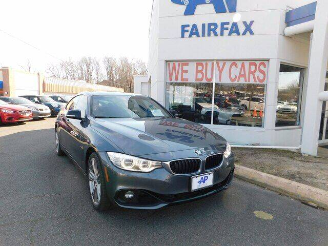 2015 BMW 4 Series for sale at AP Fairfax in Fairfax VA