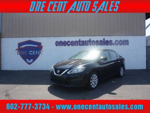 2016 Nissan Sentra for sale at One Cent Auto Sales in Glendale AZ