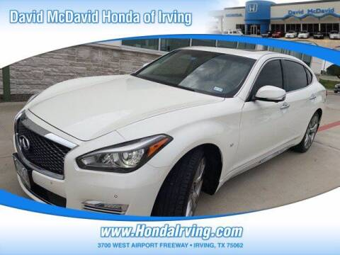 2018 Infiniti Q70L for sale at DAVID McDAVID HONDA OF IRVING in Irving TX