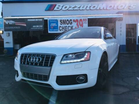 2009 Audi S5 for sale at Bozzuto Motors in San Diego CA