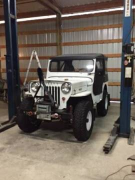 1954 Willys CJ-3B for sale at Classic Car Deals in Cadillac MI