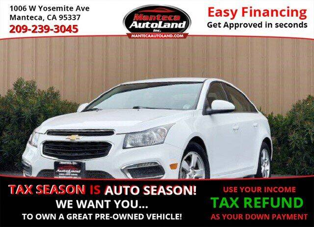 2015 Chevrolet Cruze for sale at Manteca Auto Land in Manteca CA