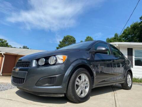 2013 Chevrolet Sonic for sale at Efficiency Auto Buyers in Milton GA