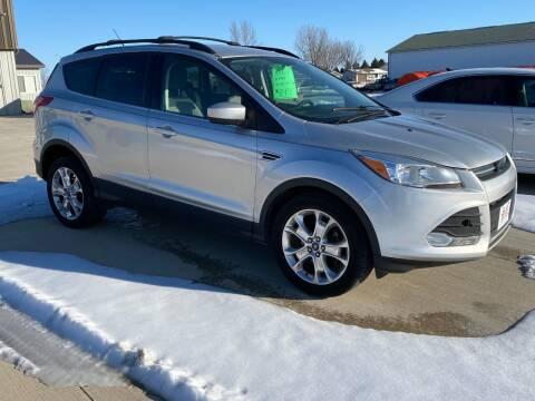 2013 Ford Escape for sale at GLIDDEN CAR CORNER in Glidden IA