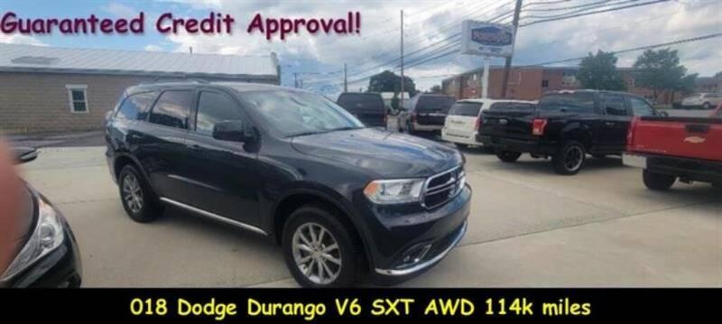 2018 Dodge Durango for sale at Fortnas Used Cars in Jonestown PA
