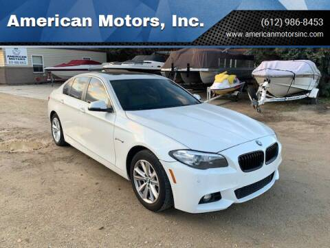 2014 BMW 5 Series for sale at American Motors, Inc. in Farmington MN