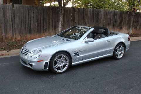 2006 Mercedes-Benz SL-Class for sale at CANTWEIGHT CLASSICS in Maysville OK