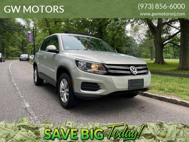 2013 Volkswagen Tiguan for sale at GW MOTORS in Newark NJ