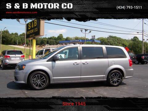 2018 Dodge Grand Caravan for sale at S & B MOTOR CO in Danville VA