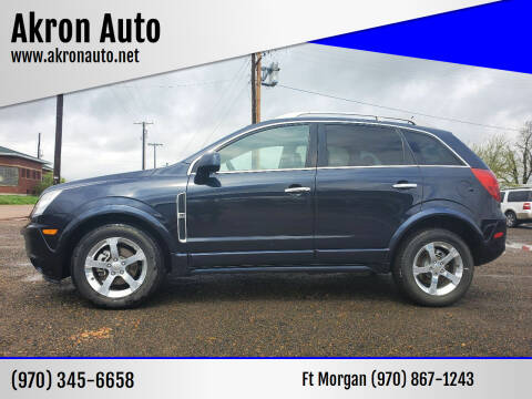 2014 Chevrolet Captiva Sport for sale at Akron Auto - Fort Morgan in Fort Morgan CO