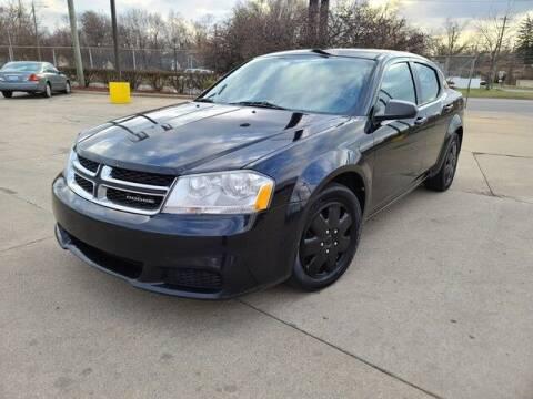 2012 Dodge Avenger for sale at G & R Auto Sales in Detroit MI