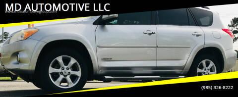 2012 Toyota RAV4 for sale at MD AUTOMOTIVE LLC in Slidell LA