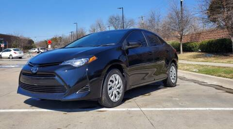 2019 Toyota Corolla for sale at International Auto Sales in Garland TX