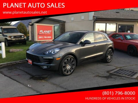 2018 Porsche Macan for sale at PLANET AUTO SALES in Lindon UT