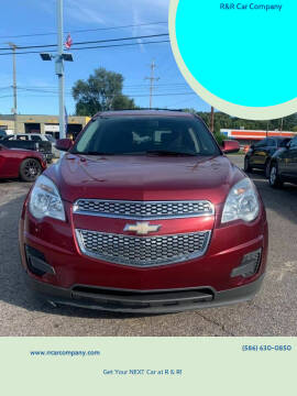 2011 Chevrolet Equinox for sale at R&R Car Company in Mount Clemens MI