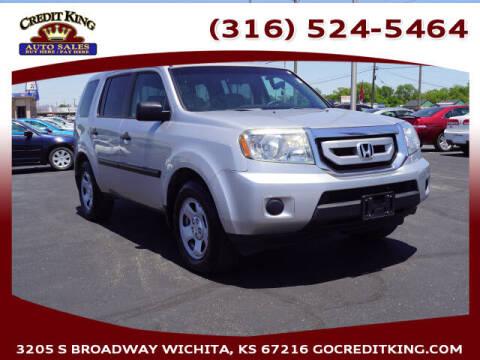 2011 Honda Pilot for sale at Credit King Auto Sales in Wichita KS