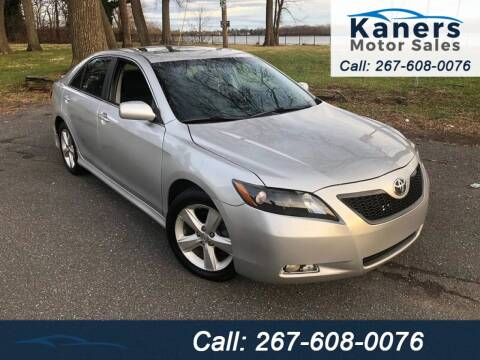 2009 Toyota Camry for sale at Kaners Motor Sales in Huntingdon Valley PA