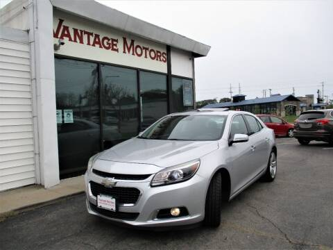 2014 Chevrolet Malibu for sale at Vantage Motors LLC in Raytown MO