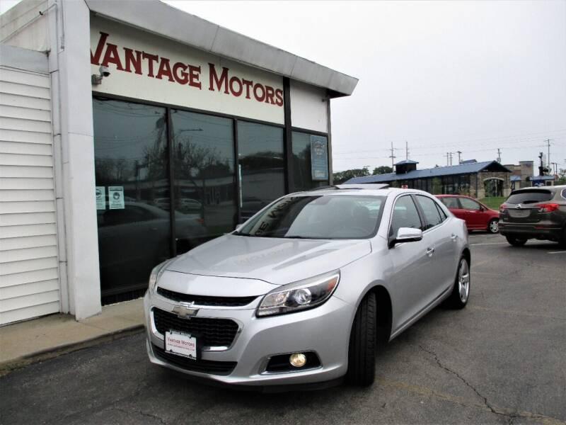 2014 Chevrolet Malibu for sale at Vantage Motors LLC in Raytown MO