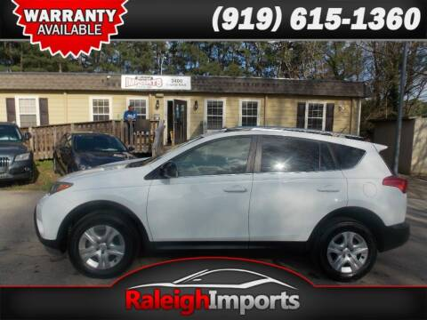2015 Toyota RAV4 for sale at Raleigh Imports in Raleigh NC