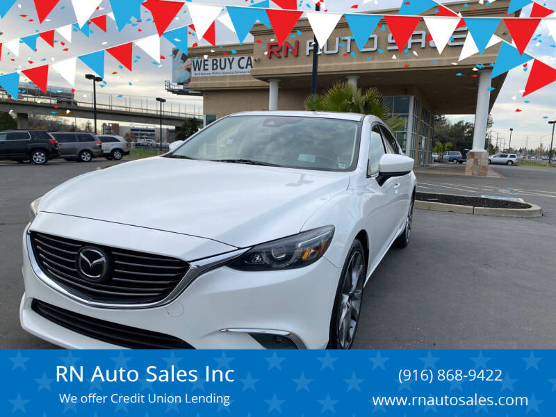 2017 Mazda MAZDA6 for sale at RN Auto Sales Inc in Sacramento CA
