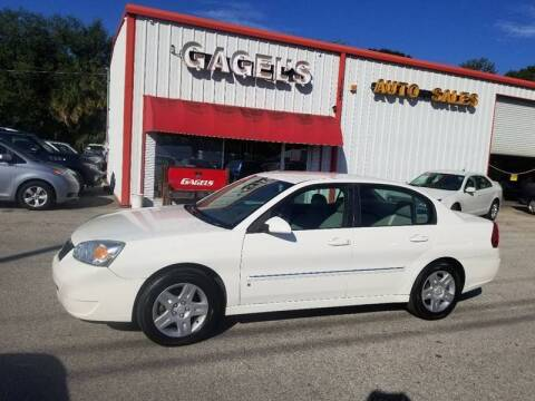 2006 Chevrolet Malibu for sale at Gagel's Auto Sales in Gibsonton FL