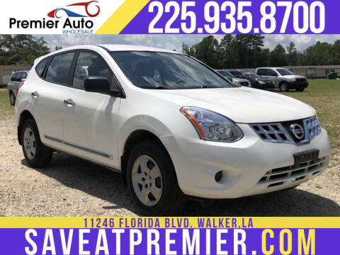 2013 Nissan Rogue for sale at Premier Auto Wholesale in Baton Rouge LA