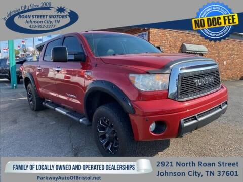2012 Toyota Tundra for sale at PARKWAY AUTO SALES OF BRISTOL - Roan Street Motors in Johnson City TN