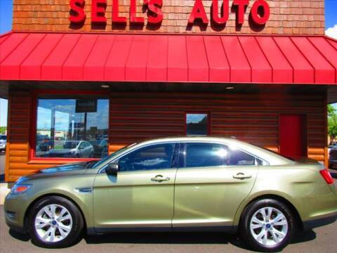 2012 Ford Taurus for sale at Sells Auto INC in Saint Cloud MN