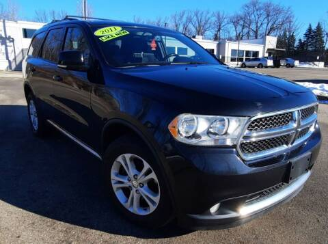 2011 Dodge Durango for sale at J & J Used Auto in Jackson MI