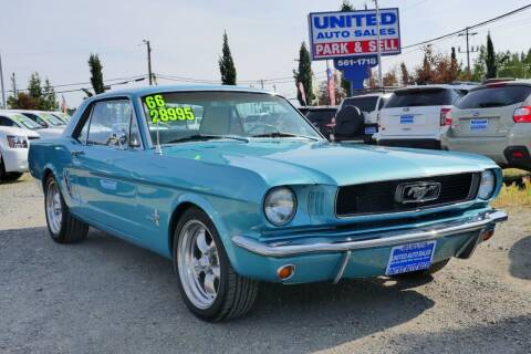 1966 Ford Mustang for sale at United Auto Sales in Anchorage AK