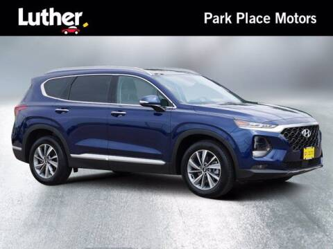 2019 Hyundai Santa Fe for sale at Park Place Motor Cars in Rochester MN