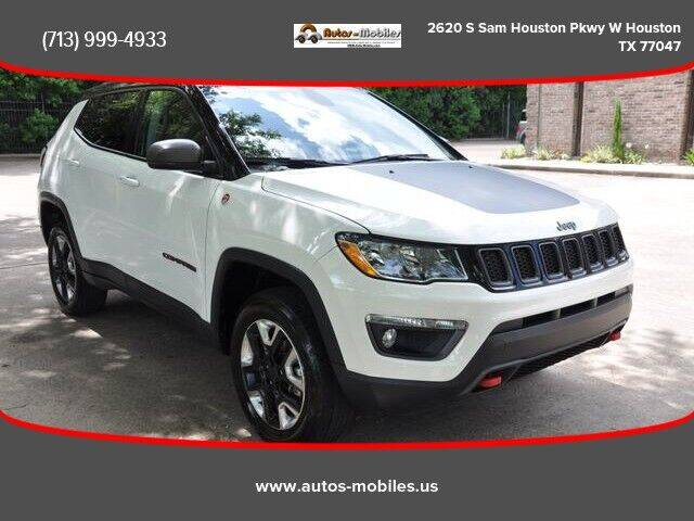 2018 Jeep Compass for sale at AUTOS-MOBILES in Houston TX