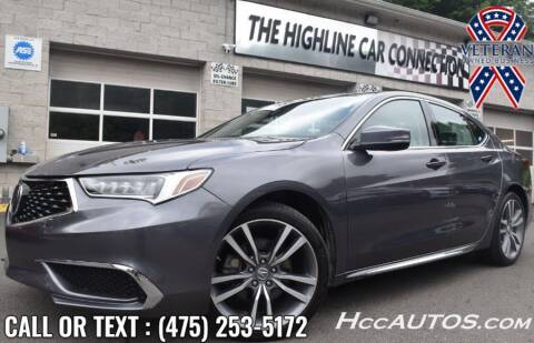 2019 Acura TLX for sale at The Highline Car Connection in Waterbury CT