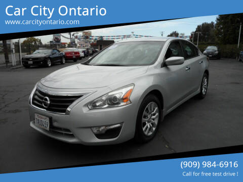 2013 Nissan Altima for sale at Car City Ontario in Ontario CA