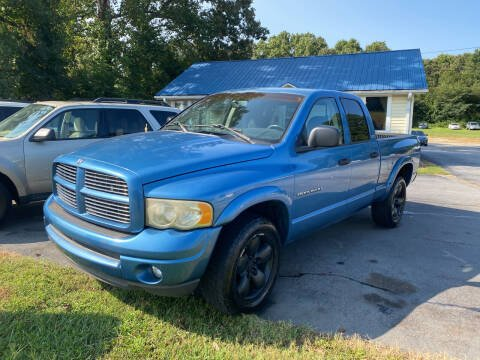 2002 Dodge Ram Pickup 1500 for sale at Tri-County Auto Sales in Pendleton SC