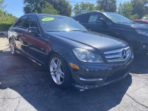 2012 Mercedes-Benz C-Class for sale at Mike Auto Sales in West Palm Beach FL