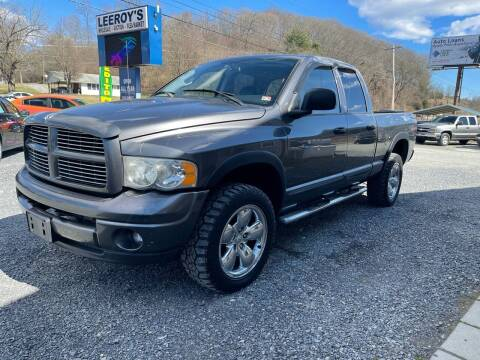 2004 Dodge Ram Pickup 1500 for sale at ABINGDON AUTOMART LLC in Abingdon VA