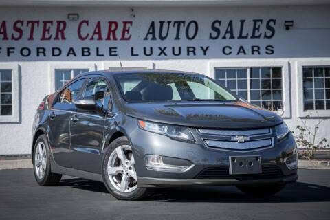 2013 Chevrolet Volt for sale at Mastercare Auto Sales in San Marcos CA