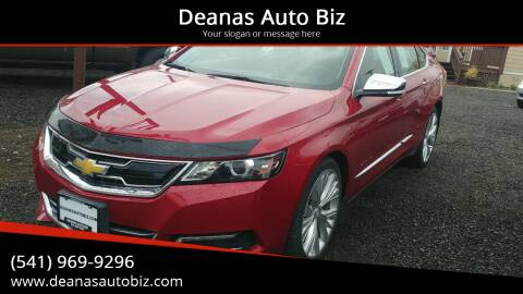 2015 Chevrolet Impala for sale at Deanas Auto Biz in Pendleton OR