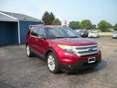 2014 Ford Explorer for sale at USED CAR FACTORY in Janesville WI