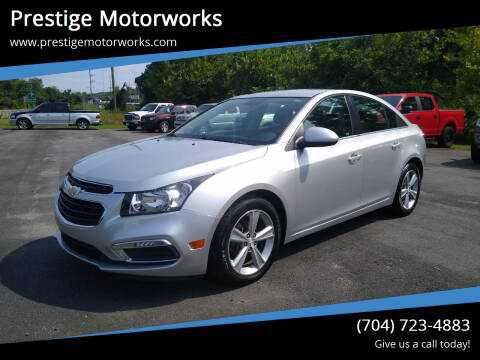 2016 Chevrolet Cruze Limited for sale at Prestige Motorworks in Concord NC