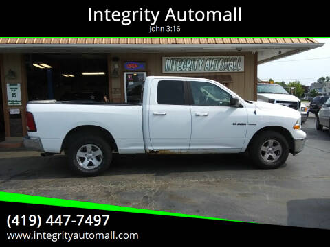 2010 Dodge Ram Pickup 1500 for sale at Integrity Automall in Tiffin OH