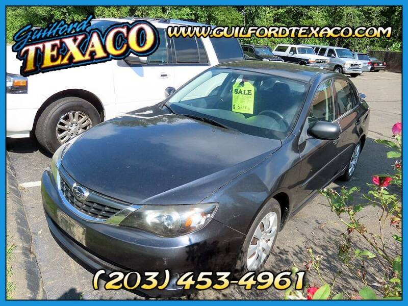 2008 Subaru Impreza for sale at GUILFORD TEXACO in Guilford CT