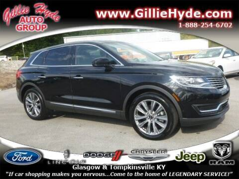 2017 Lincoln MKX for sale at Gillie Hyde Auto Group in Glasgow KY